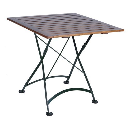 Furniture Designhouse Square European Cafe Folding Table - 32 x 32 in.