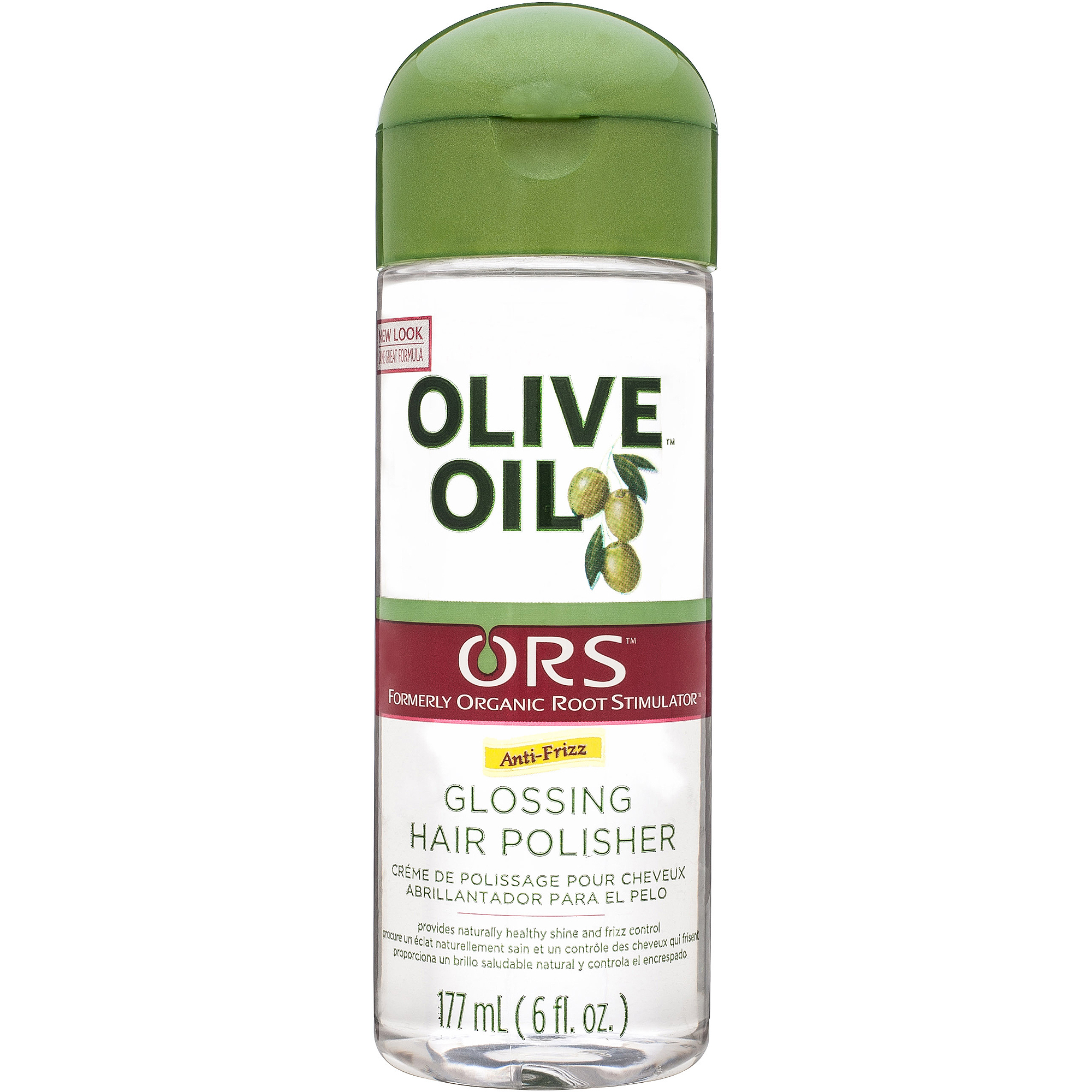 Organic Root Stimulator Olive Oil Glossing Polisher, 6 fl oz