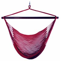 Hanging Caribbean Rope Chair