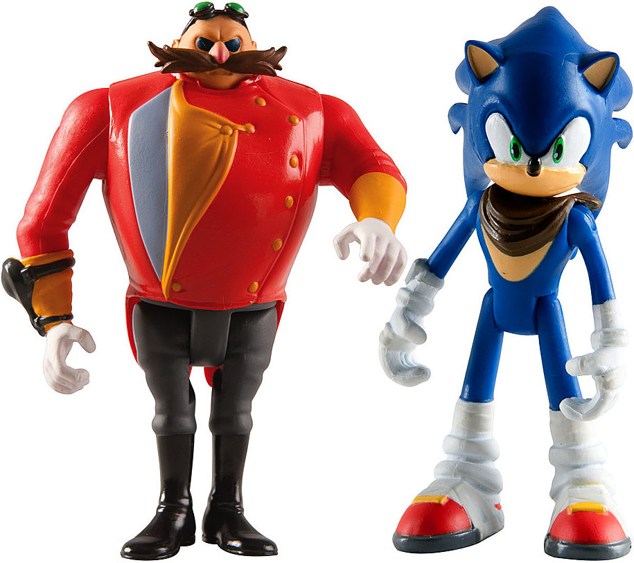 Sonic The Hedgehog Sonic Boom Dr. Eggman & Sonic Action Figure 2-Pack by