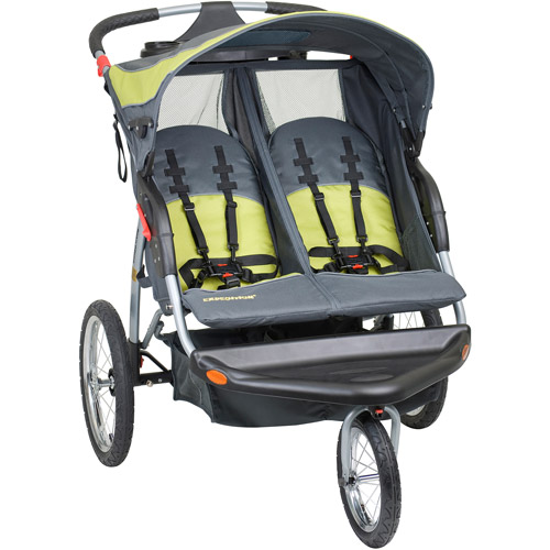 Baby Trend Expedition Double Jogging Stroller, Carbon by Baby Trend