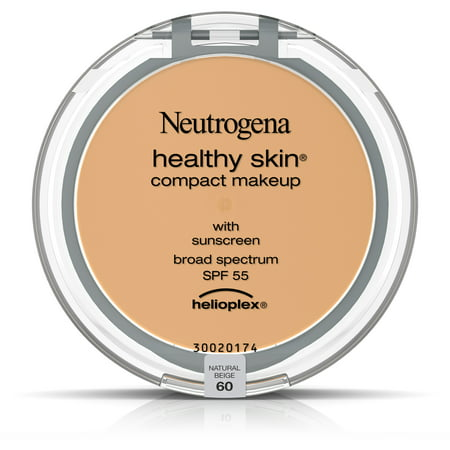Neutrogena Healthy Skin Compact Makeup Foundation, Broad Spectrum Spf 55, Natural Beige 60,.35 (Best Makeup For Wrinkled Skin)