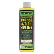 TRACERLINE TD150P8 PAG Lubricant/Dye Bottle Green, 1 PK