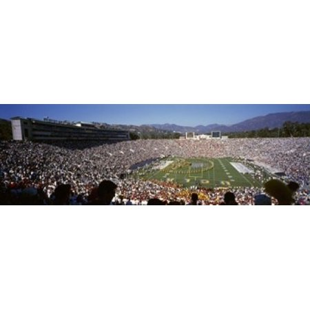 Spectators watching a football match Rose Bowl Stadium Pasadena City of Los Angeles Los Angeles County California 18 x -