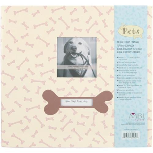 Mbi 8659-82 Pet Postbound Album 12 x 12 Inch