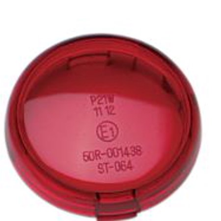 Drag Specialties Replacement Turn Signal Lens Red (DS280518)