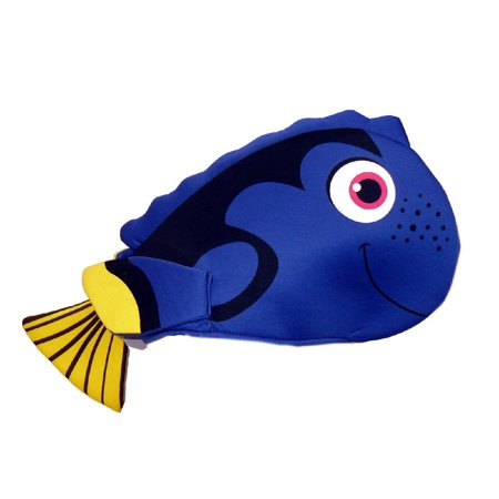 Dory Style Hat Royal Blue Regal Tang Fish Tropical Costume Accessory Surgeonfish (Dead Fish Hat)