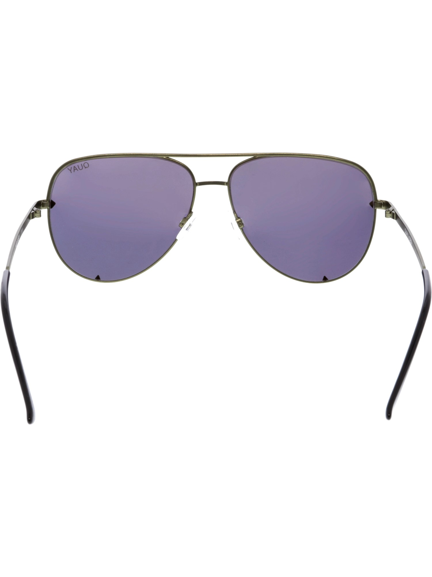 a8994fd309 Quay - QUAY Australia X Desi Perkins HIGH KEY GREEN   GOLD MIRROR LENS  Sunglasses - Walmart.com