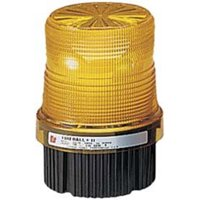 Federal Signal FB2PST-120G Fireball Strobe Warning Light, Single Flash, Green