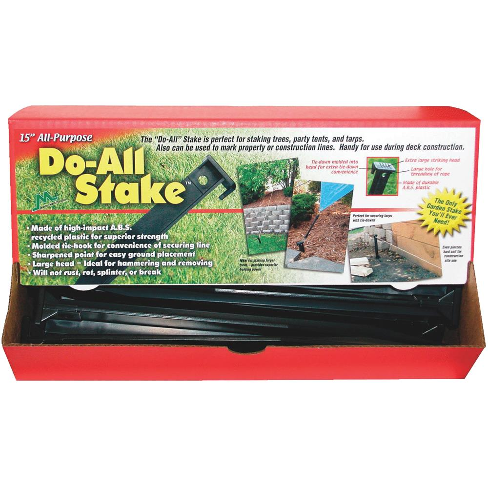 "Master Mark Plastic Prod. 15"" Do-All Stakes 12151"