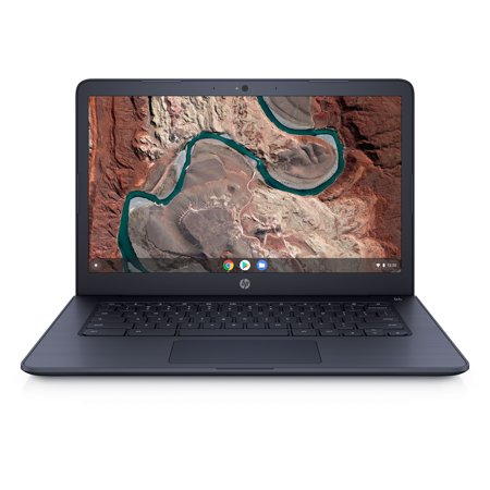 HP Chromebook 14, 14u0022 Full HD Display, AMD A4-9120C, AMD Radeon R4 Graphics, 4 GB SDRM, 32GB eMMC, Audio by B&O, Ink Blue, 14-db0043wm