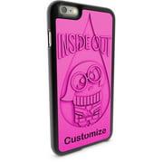 Apple iPhone 6 Plus and 6S Plus 3D Printed Custom Phone Case - Disney/Pixar Inside Out - Sadness