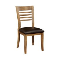 Bowery Hill Dining Chair in Natural Oak (Set of 2)