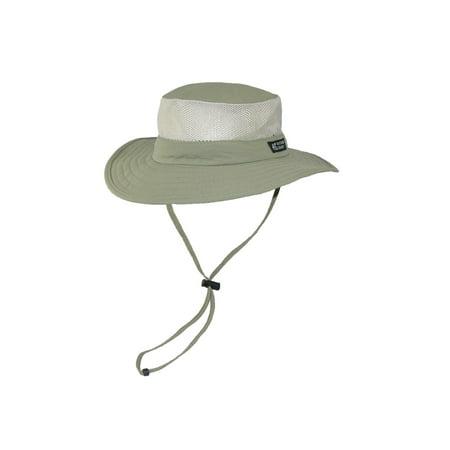09ef6b209b814 Dorfman Pacific Wide Brim Sun Supplex Hat with Mesh Sides - Walmart.com