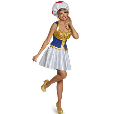 Toad Female Adult Costume for $<!---->