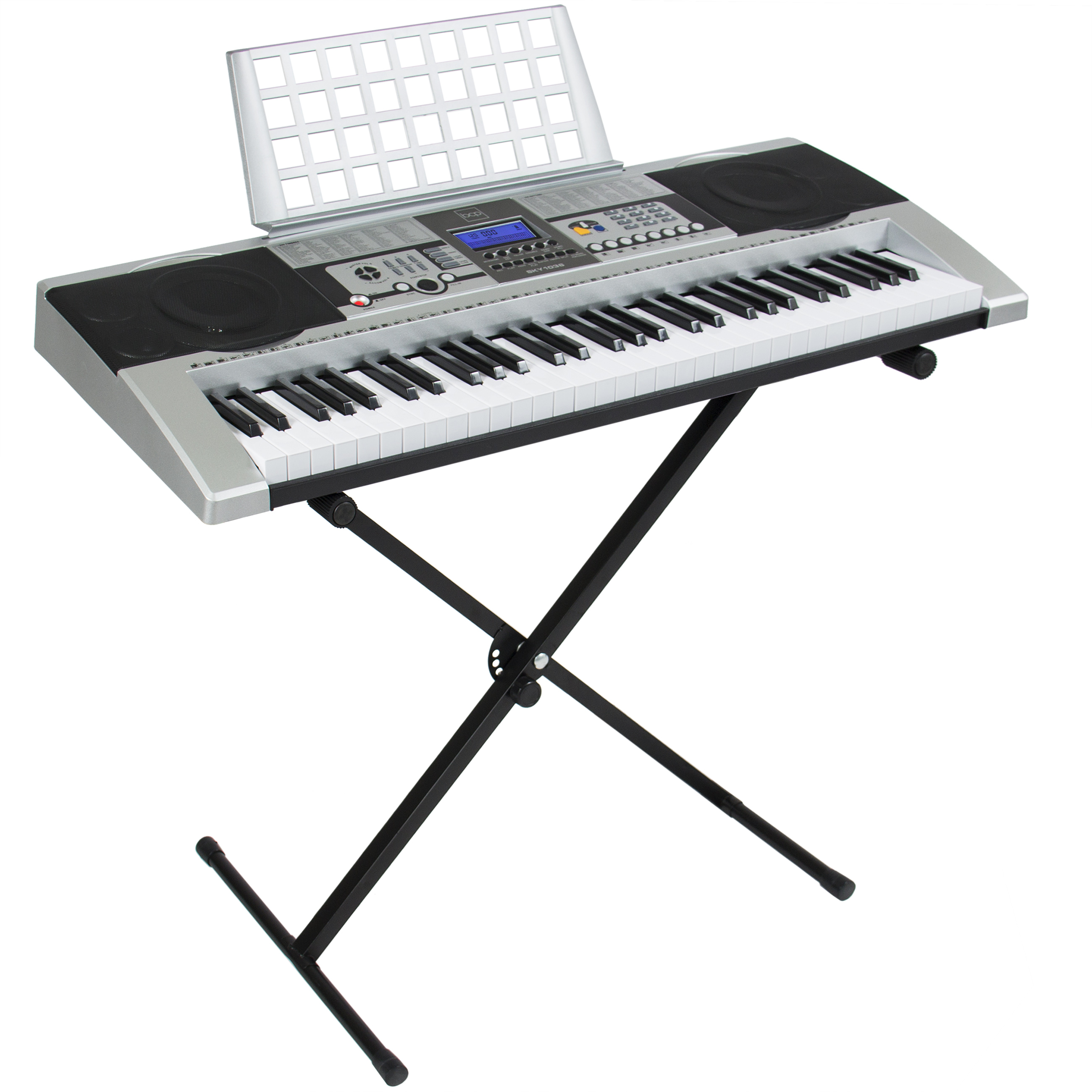 Electronic Piano Keyboard 61 Key Music Key Board Piano ...