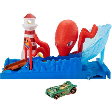 - Hot Wheels City Octopus Playset