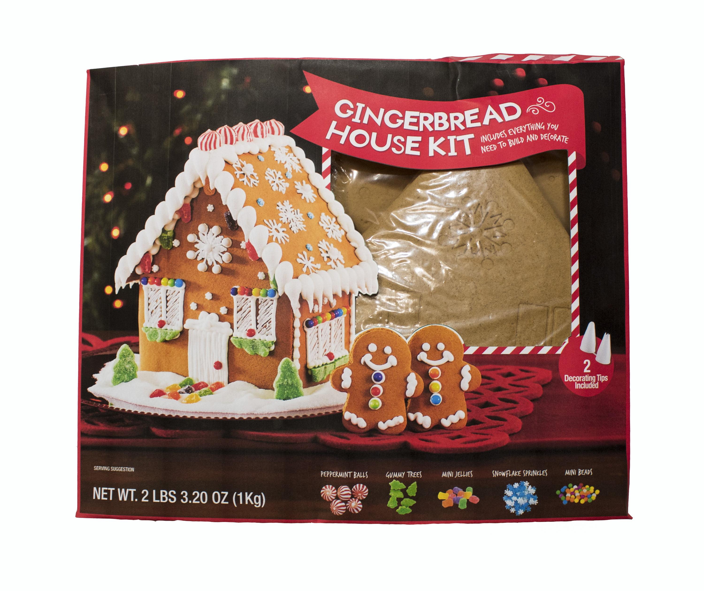 Marketside Gingerbread House Kit, 2.2 lb - Walmart.com