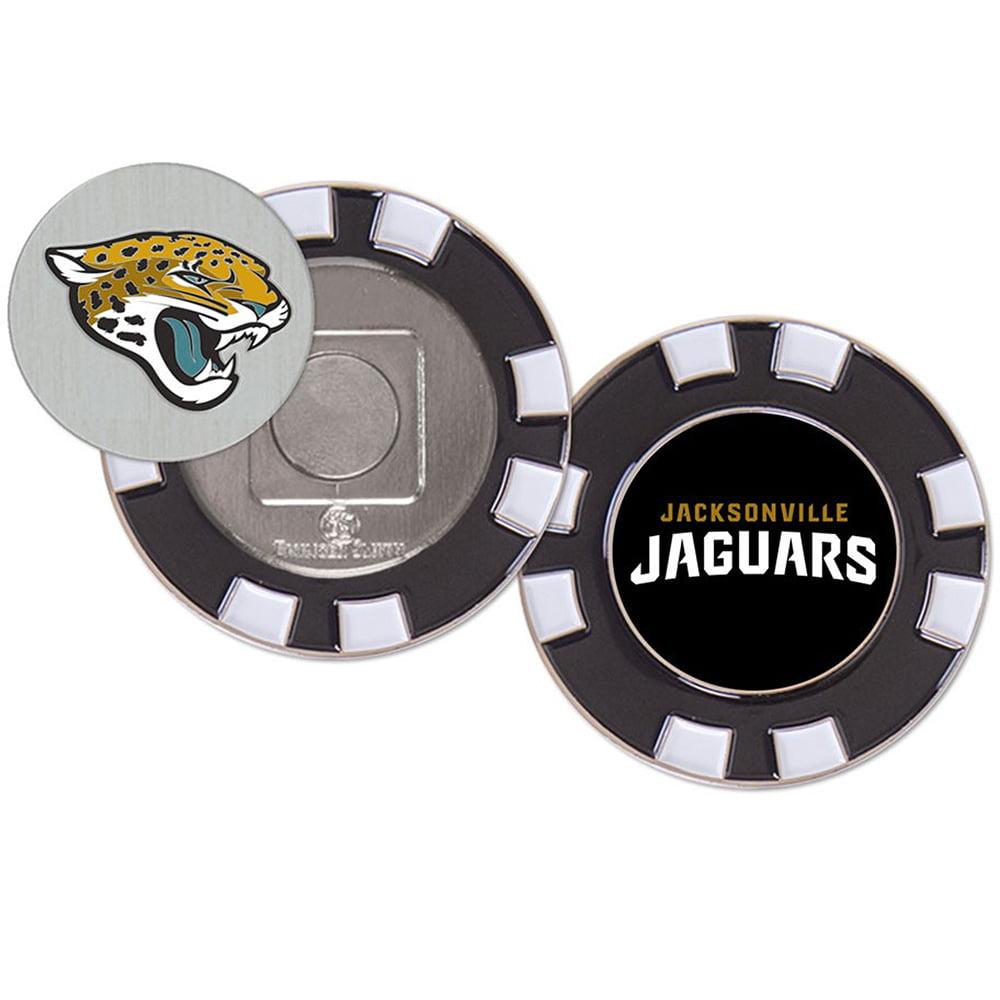 Jacksonville Jaguars WinCraft Golf Poker Chip - No Size