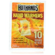 HotHands 10 Hour Heat Sports, Camping, Outdoors, Skiing, Self Activating Hand Warmer, 1 Pack