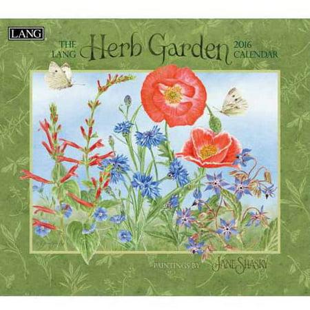 Lang Herb Garden 2016 Wall Calendar