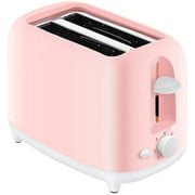 Household 2-Slice Toaster,Mini Electric Breakfast Machine, 7 Variable Browning Settings,Wide Slots,Auto Pop-Up and Easy Clean Slide Out Crumb Tray