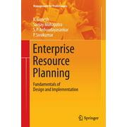 Management for Professionals: Enterprise Resource Planning : Fundamentals of Design and Implementation (Paperback)