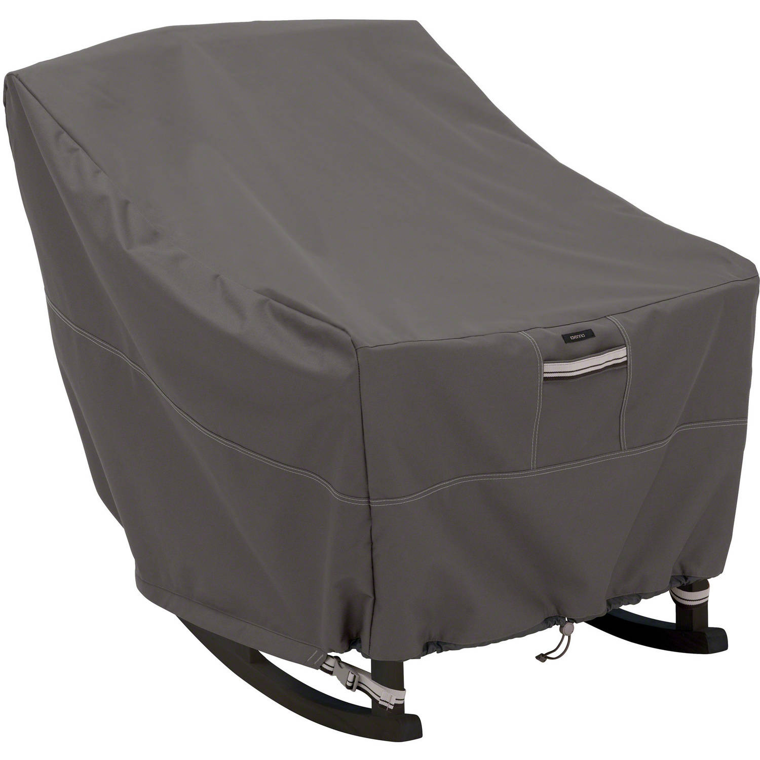 Classic Accessories Ravenna Porch Rocking Chair Patio Furniture Storage Cover, Taupe