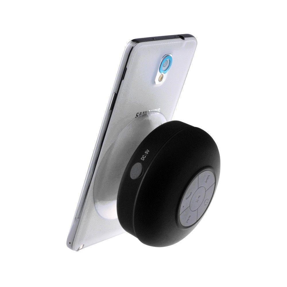 Universal Waterproof Bluetooth Shower Speaker W Suction Cup Black Lowepro Toploader Zoom 45 Aw Ii