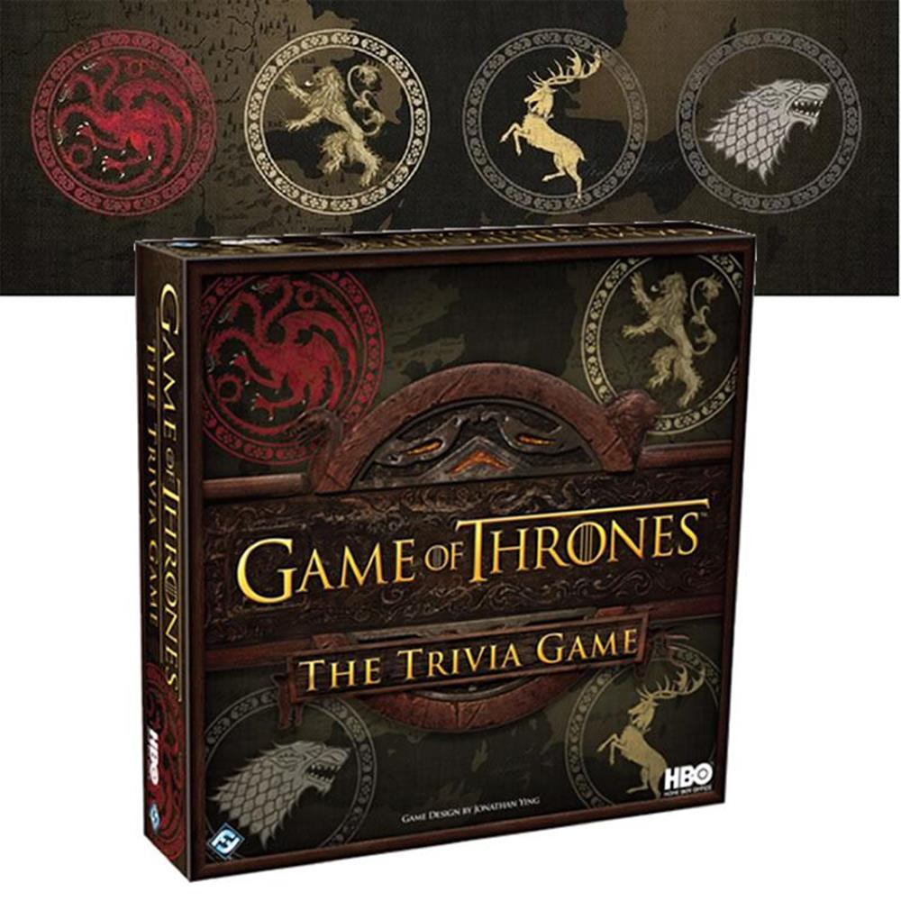Game Of Thrones Trivia Game by Fantasy Flight Games