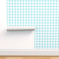 Removable Water-Activated Wallpaper 80S Eighties Retro Geometric Grid Square