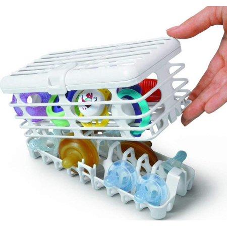 Dishwasher Basket, Infant, Top rack safe and fits all dishwashers By Prince