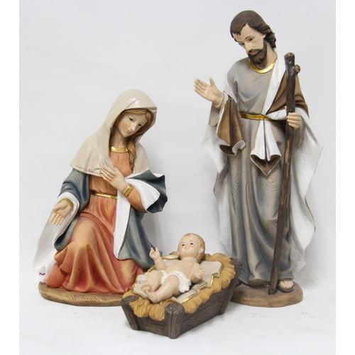 Hi-Line Gift Ltd. 3 Piece Nativity Figurine Set by