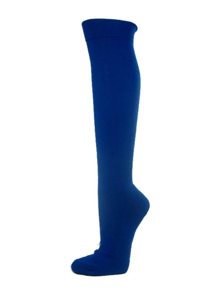Knee High Sports Athletic Baseball Softball Socks, BLUE, Large