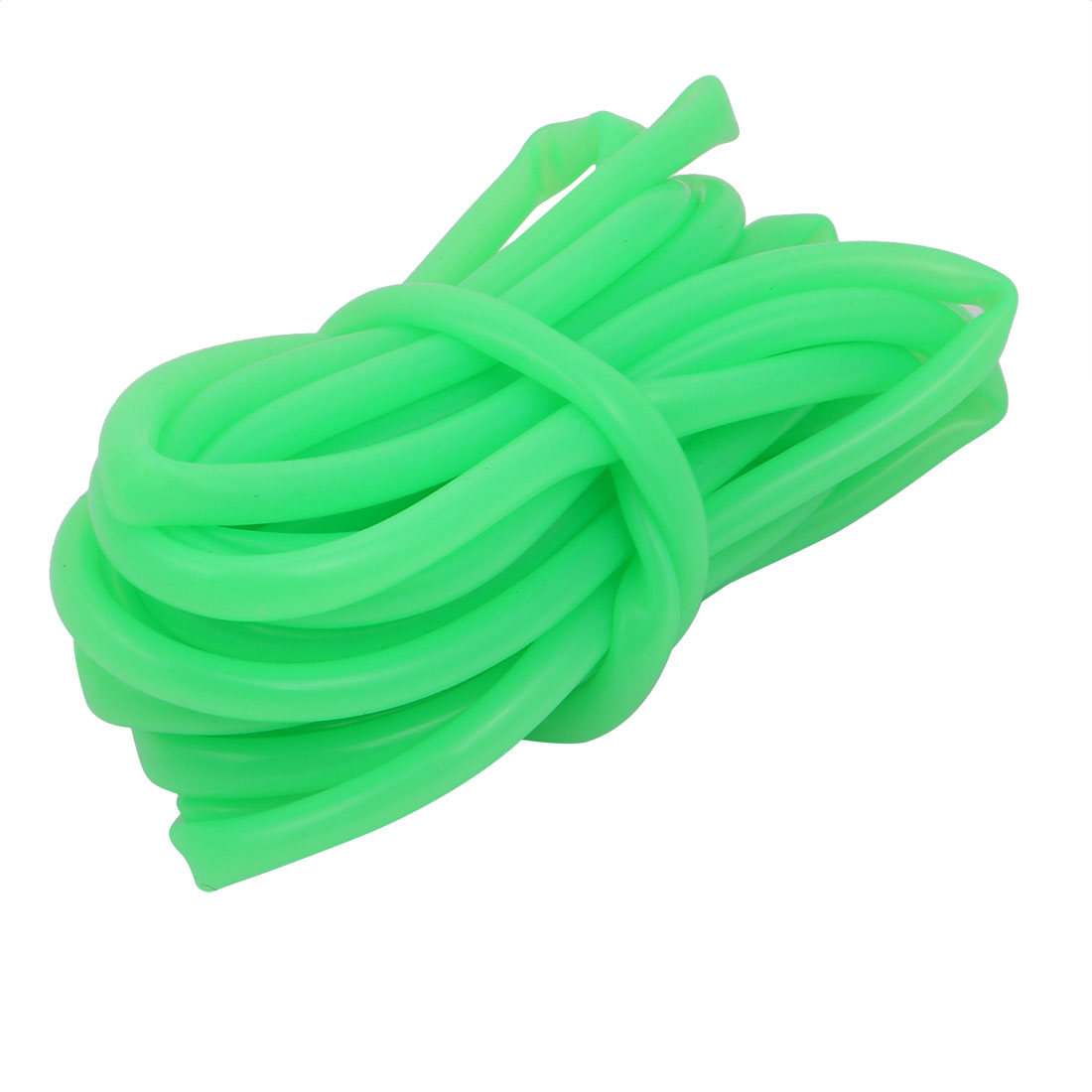 Unique Bargains 5mm x 7mm Heat-Resistant Silicone Rubber Tube Hose Pipe Light-Green 5M Length - image 1 of 1