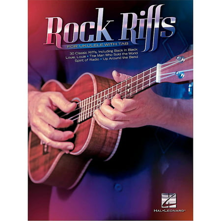 Hal Leonard Rock Riffs For Ukulele (with - Rock Riffs Tab