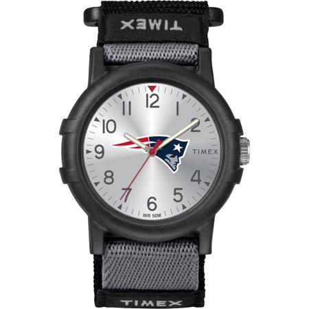 Timex - NFL Tribute Collection Recruite Youth Watch, New England (Mlb Baseball Youth Watch)