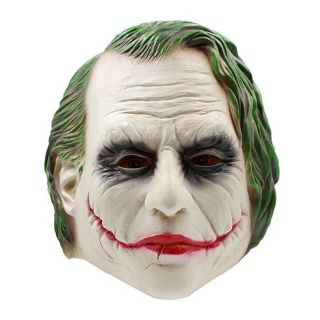 Batman Joker Mask Adult Full Overhead Latex Mask for Cosplay Show Costume Party Halloween Masquerade Party - Female Batman Cosplay