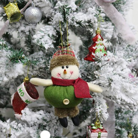 Funcee Christmas Xmas Tree Decorative Hanging Dolls Ornaments - Walmart.com