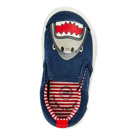 Wonder Nation Shark Canvas Sneakers (Infant Boys)