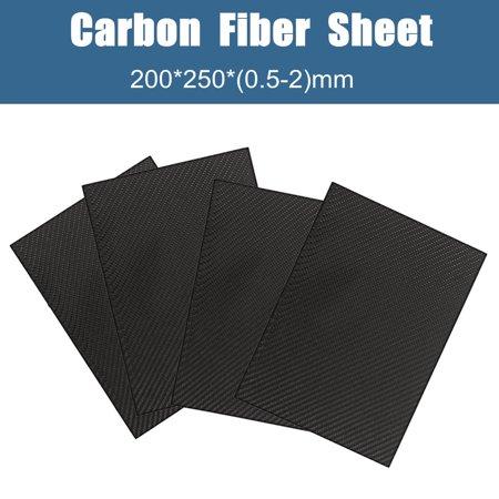 3k Carbon Fiber Tail Blade - Moaere 10''x8'' Carbon Fiber Plate Panel Sheet 3K Twill Weave Glossy