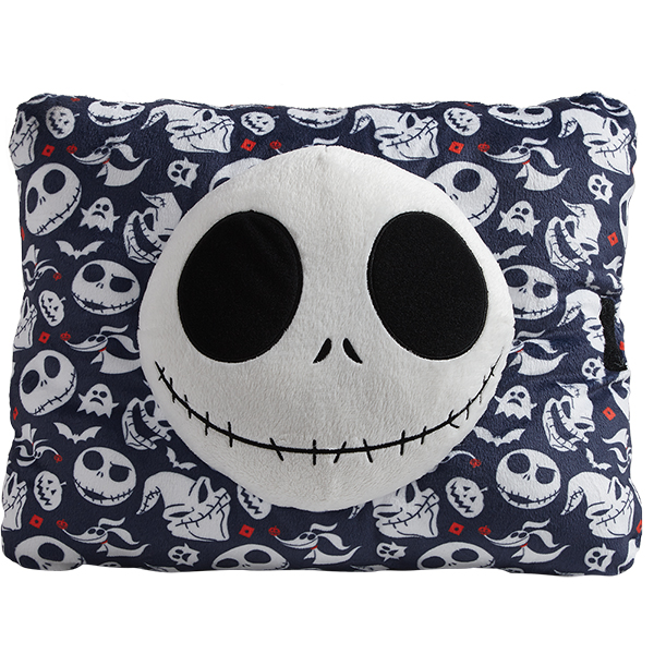 Pillow Pets Nightmare Before Christmas Jack Skellington Plush Toy - Blue
