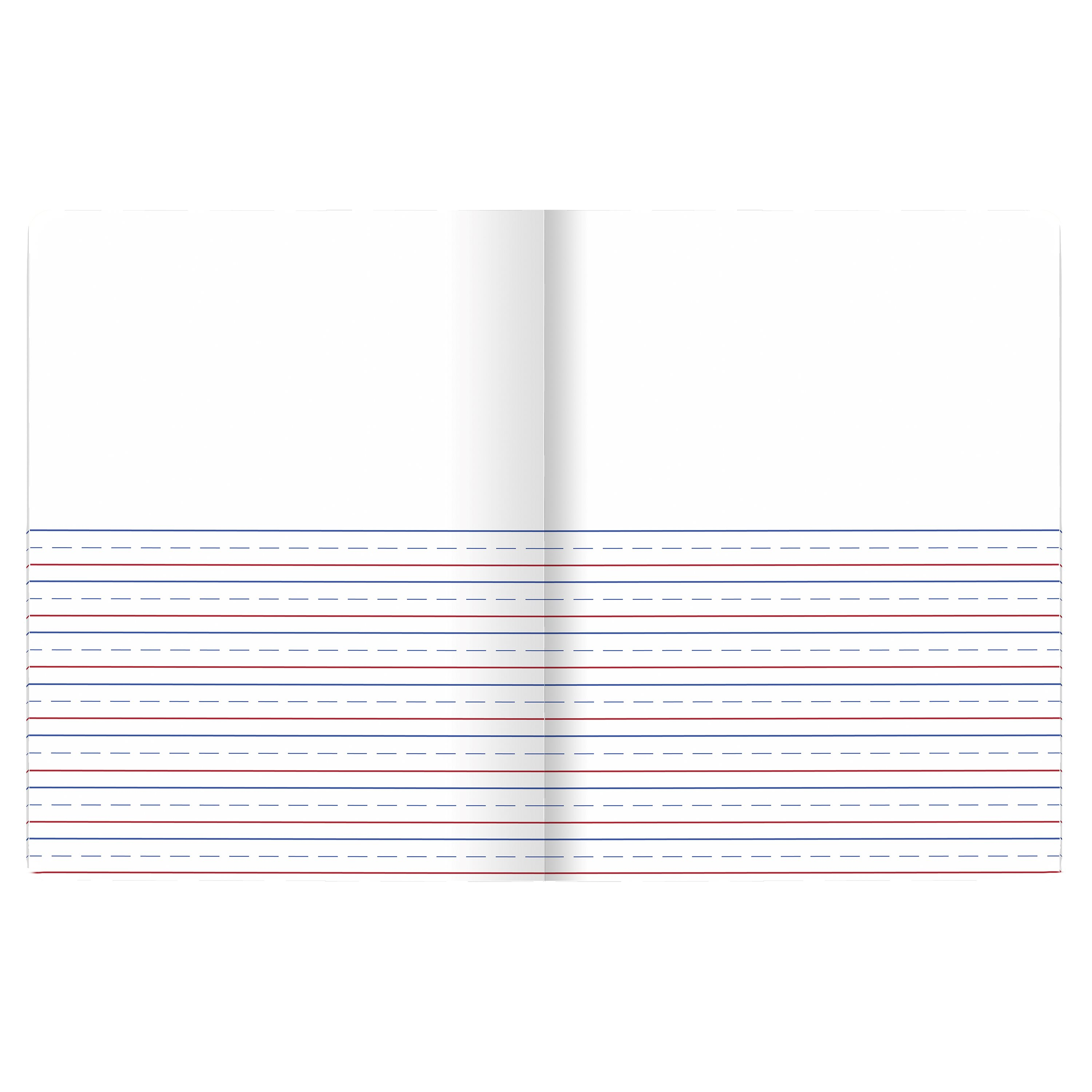 mead primary journal, half page ruled, grades k-2, 100 sheets, 7 1/2