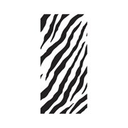 Make N Mold 5900Z Zebra Treat Bags with Candy Ties, Pack of 12