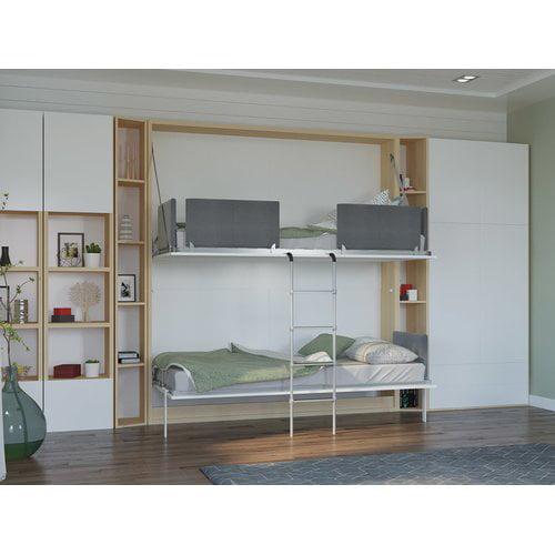 Brayden Studio Butcombe Twin Murphy Bed
