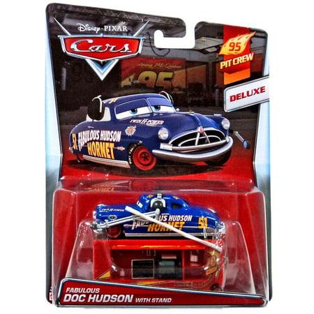 Disney Cars RACE DAMAGED DOC HUDSON HORNET *CUSTOM MADE* Mattel 1:55 Film- & TV-Spielzeug