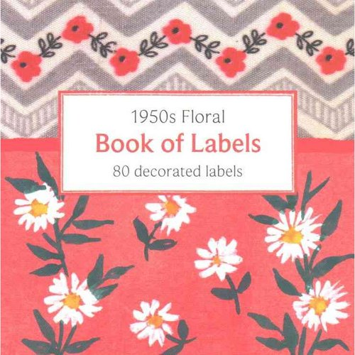 1950's Floral Book of Labels