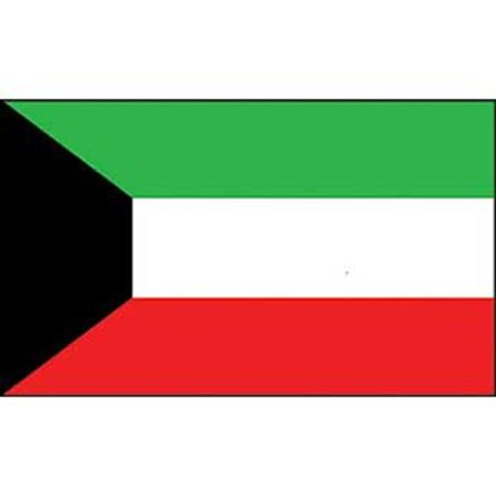 Kuwait Flag On A Stick 12