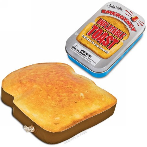 Inflatable Toast in Tin by Accoutrements - 12357