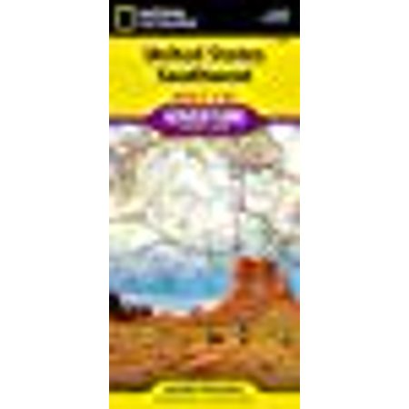 Southwest Florida Map - National geographic adventure map: united states, southwest - folded map: 9781566957151